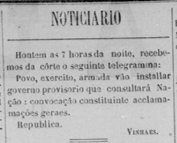 A união - República - noticiário